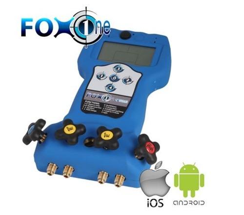 Foto Wigam - Digitale 4-weg manifold, met Bluetooth, App