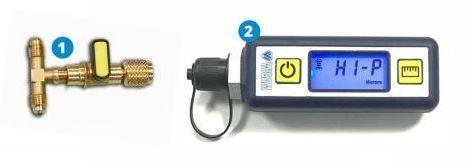 Foto Wigam - Digitale vacuummeter