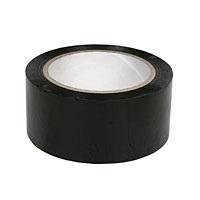 Foto HQ - PVC tape zwart 50 mm x 10 mtr (VPE 150)