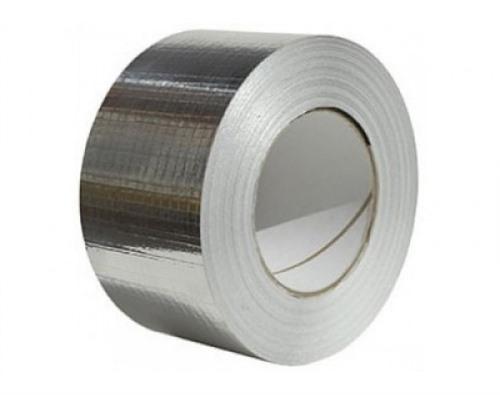 Foto Aluminium tape 75 mm x 45 mtr versterkte uitvoering (16)