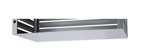 Evolar bottem panel antraciet achterzijde