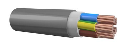 Foto 3x2.5 mm2 YMvK kabel Dca BL,BR,Gr/Y (100)