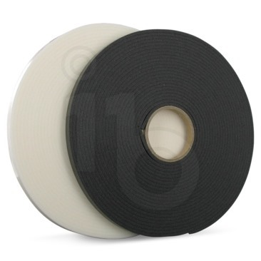 Foto Zelfklevende isolatietape wit 3x50mm - 10mtr